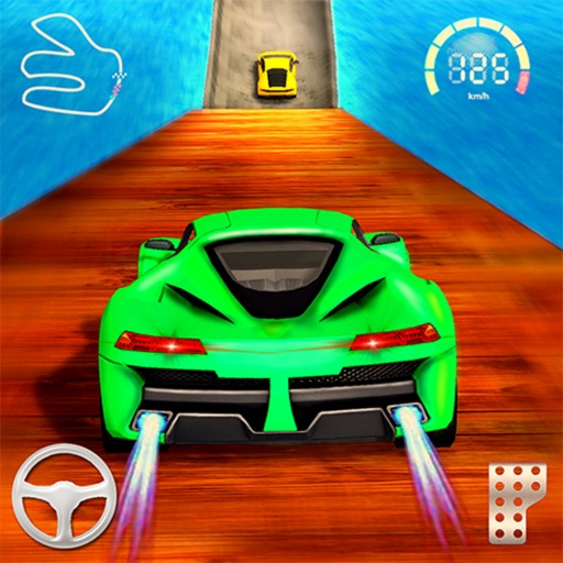 Super Speed Hero Mega Ramp