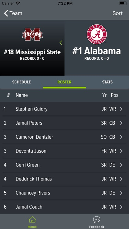 Alabama Football 2018 screenshot-4