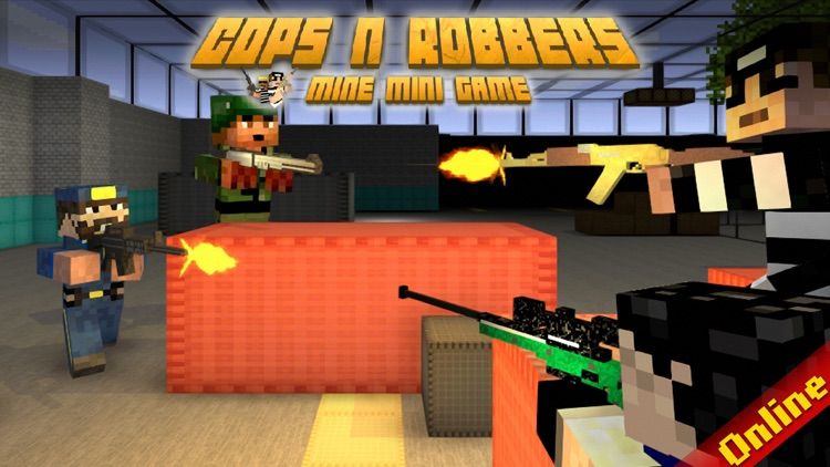 Cops N Robbers (FPS): 3D Pixel screenshot-0