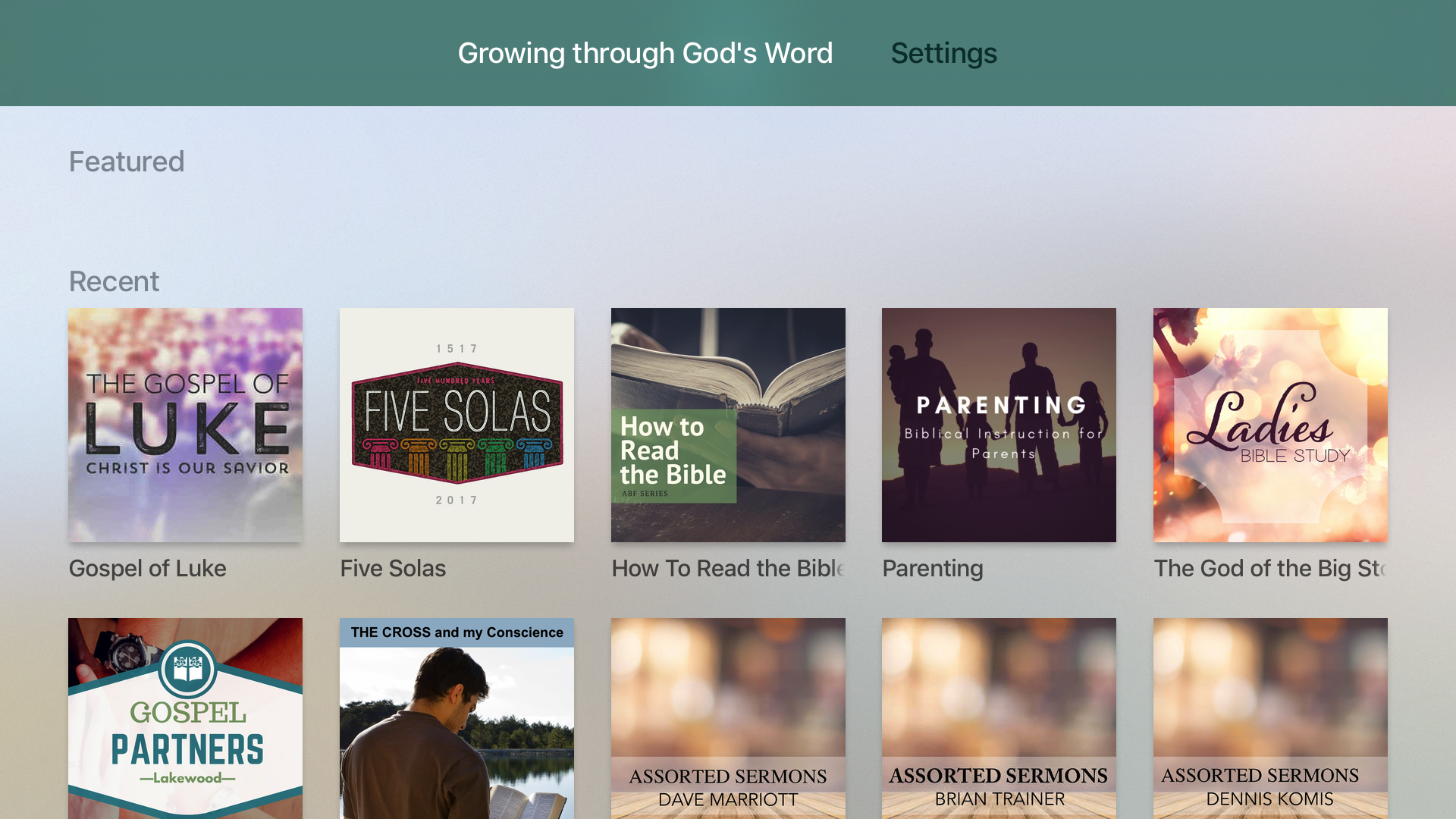 Growing through God's Word screenshot 7