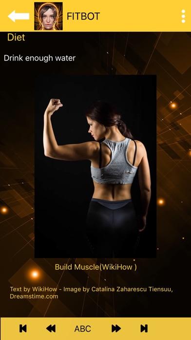 Flat stomach workouts - FitBot screenshot 5