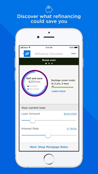 Mortgage By Zillow review screenshots