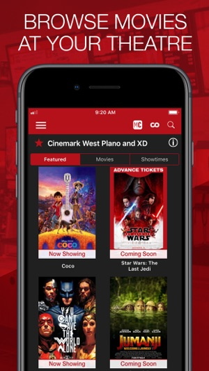 Cinemark theatres on the app store negle Images