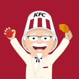 KFC BBL Buckethead Stickers
