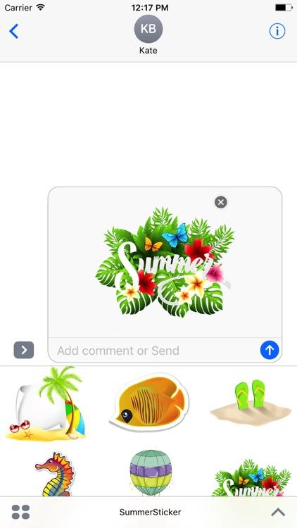 Summer Sticker New