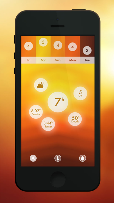 Haze ~ Weather Forecasts Скриншоты5