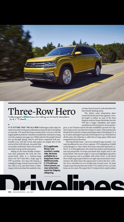 Car and Driver Magazine US screenshot-4
