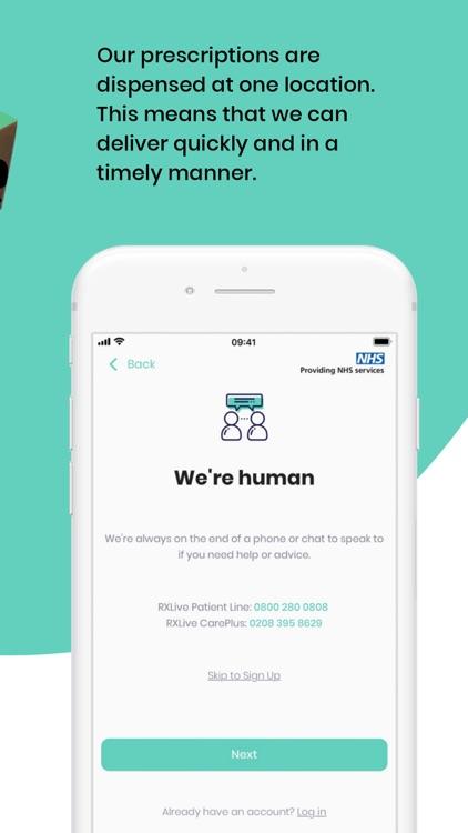 RXLive - NHS prescriptions screenshot-4