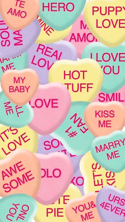 Candy Hearts - Sweet Emojis