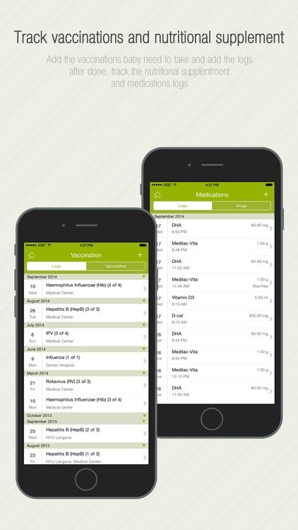 Babycare Tracker Pro screenshot-4