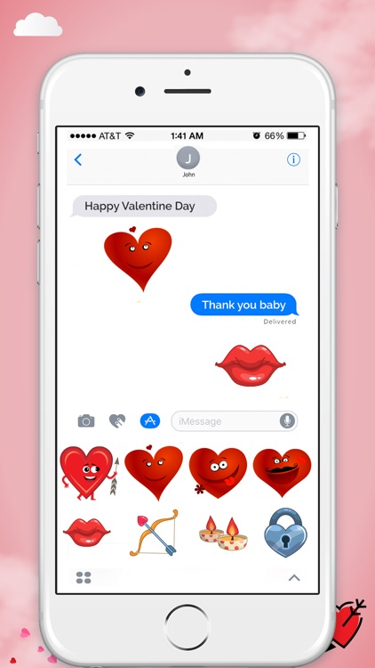 Valentine's Day Stickers! screenshot-3