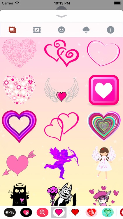 Pink Love • Emoji and stickers screenshot-6