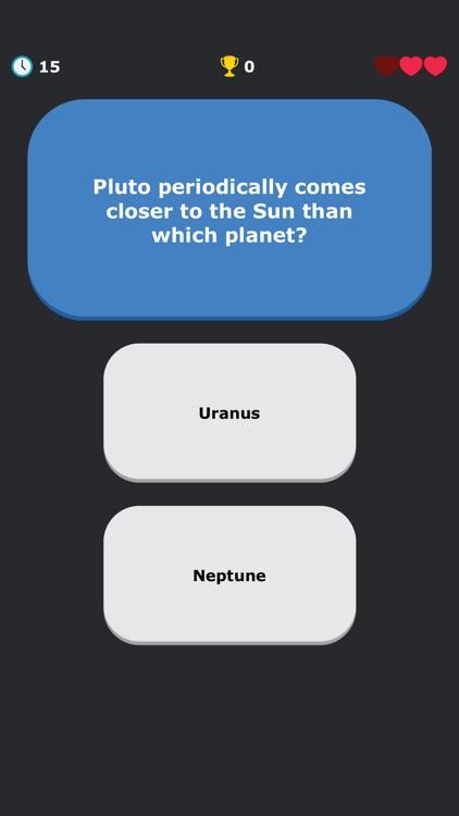 Solar System Quiz - Astronomy screenshot-7