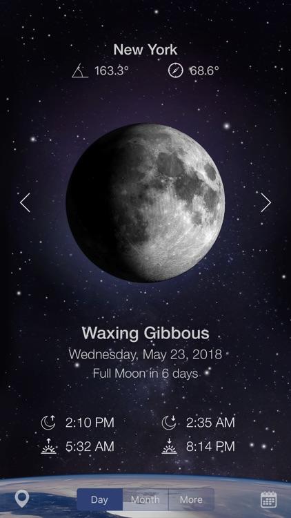 Moon Calendar Pro + Charts screenshot-0
