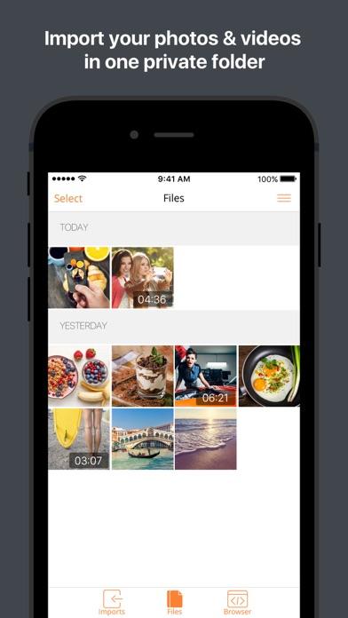 Secure Browser & File Manager app image