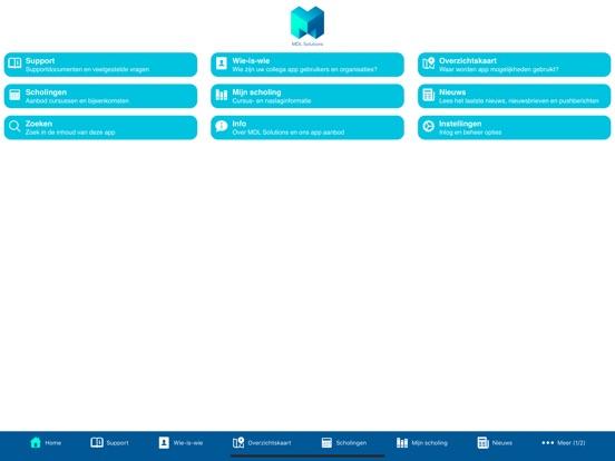 MDL Solutions support app screenshot #1