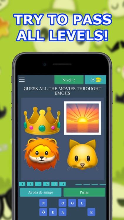 4 Emojis 1 Movie - Guess Movie screenshot-3