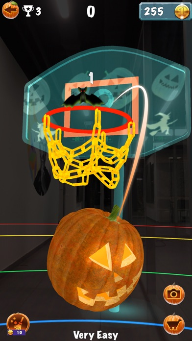 Pumpkin Basketball