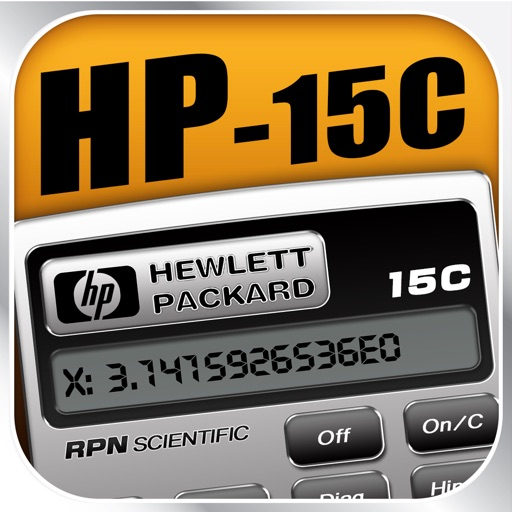 HP-15C Scientific Calculator
