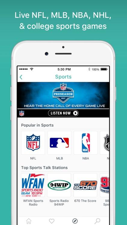 TuneIn Radio Pro - MLB Audiobooks Podcasts Music