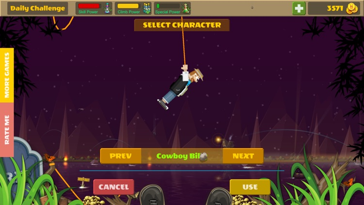Rope Heroes : Hole Runner Game screenshot-3