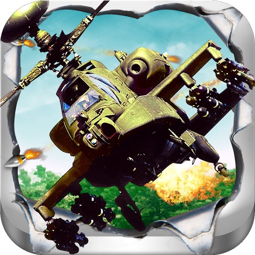 Злой Вертолет: боевая игра
