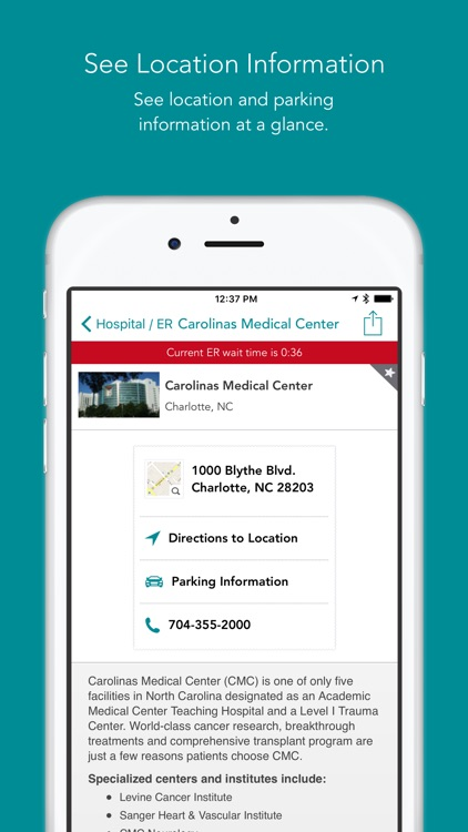 Carolinas HealthCare System screenshot-3