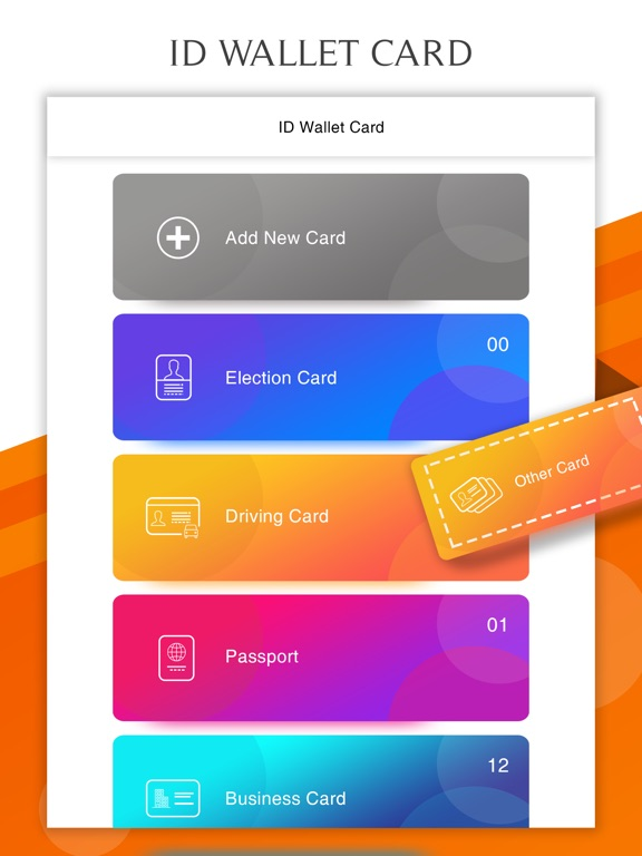 Id proof card mobile wallet app price drops screenshot 1 for id proof card mobile wallet reheart Images