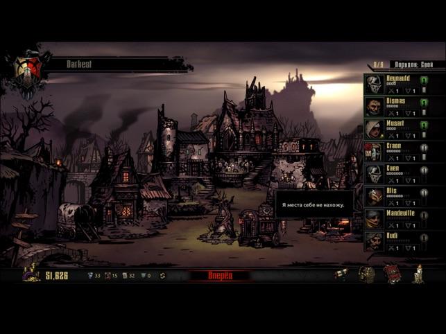 Darkest Dungeon:Tablet Edition Screenshot