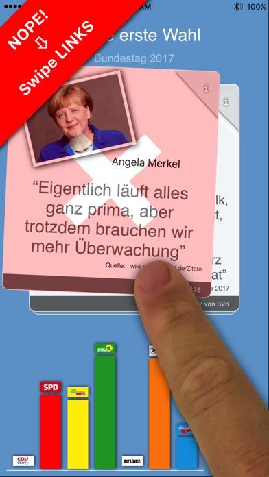 Meine Erste Wahl zum BundestagScreenshot von 2