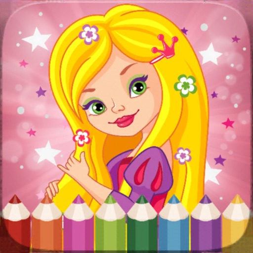 Color My Sweet Little Princess