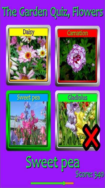 The Garden Quiz: Flowers screenshot-4
