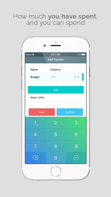 HolidayBudget: Expense Tracker screenshot-6