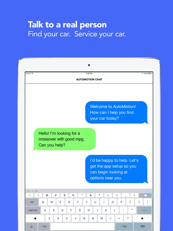 iPad Image of Car Repair - AutoMotion