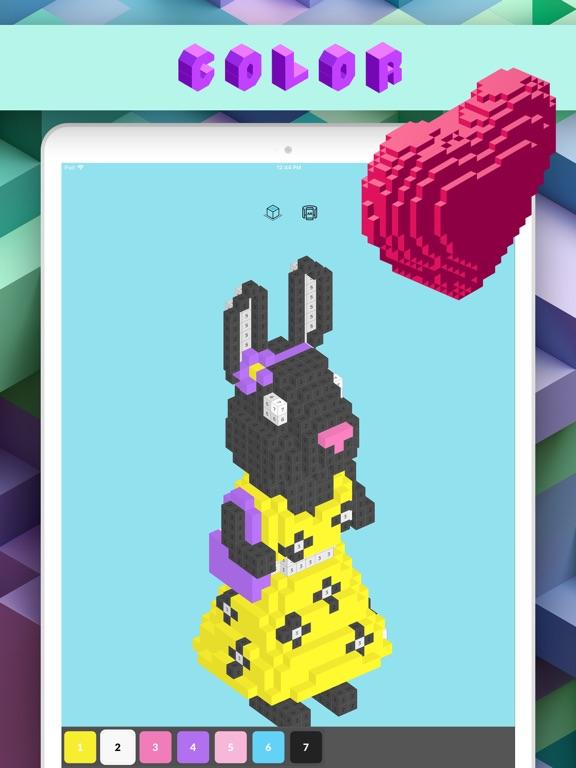 3d Number Coloring: Voxel Art | App Price Drops