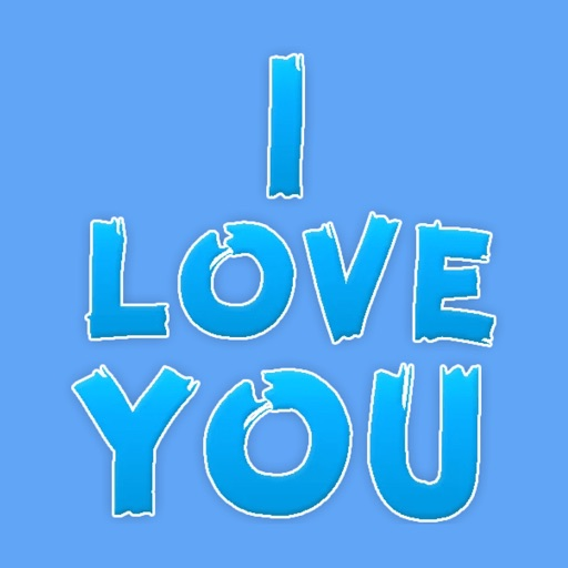 Stickers Love Text STiK