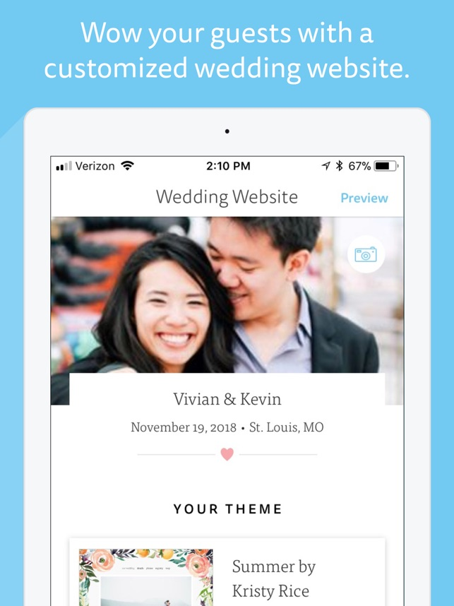 wedding planner by the knot on the app store