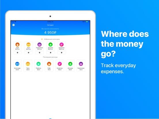 Ipad Screen Shot Spending Control 0