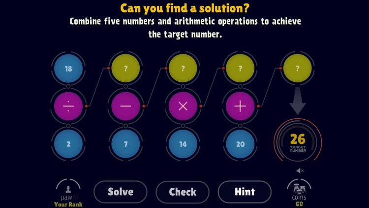Math Operations: Target Number