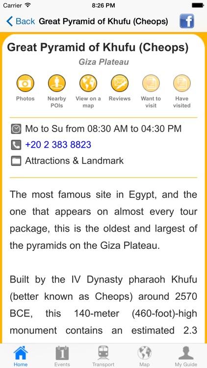 Cairo Travel Guide Offline screenshot-4