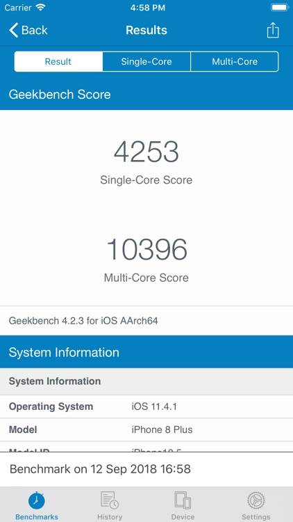 Geekbench 4 Pro screenshot-3