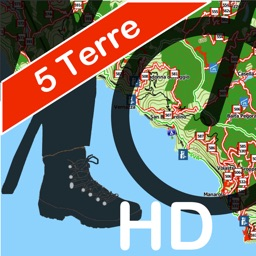 Cinque Terre Trails Hiking GPS