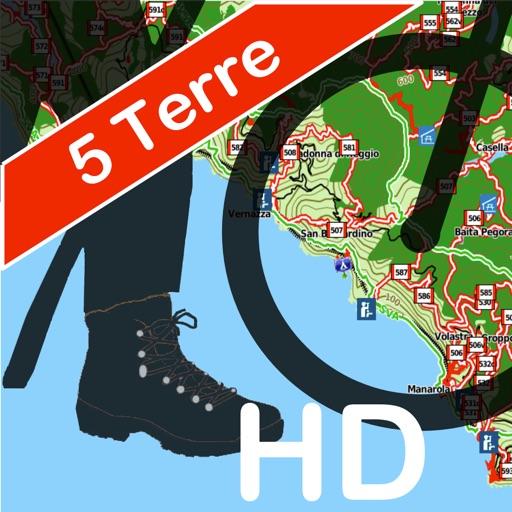 Cinque Terre Trails Hiking GPS