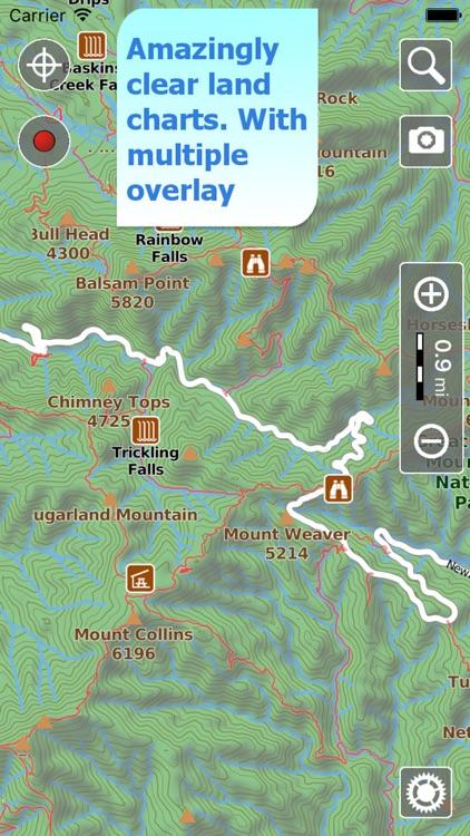 Terra Map Pro GPS Hiking maps screenshot-0
