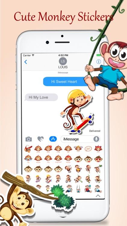 Animated Monkey Friends screenshot-4