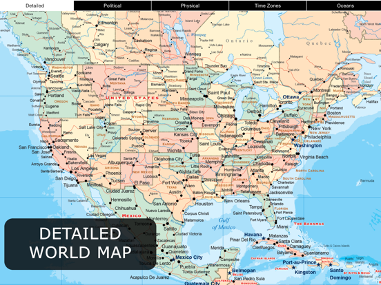 World Map Pro for iPad | App Price Drops on