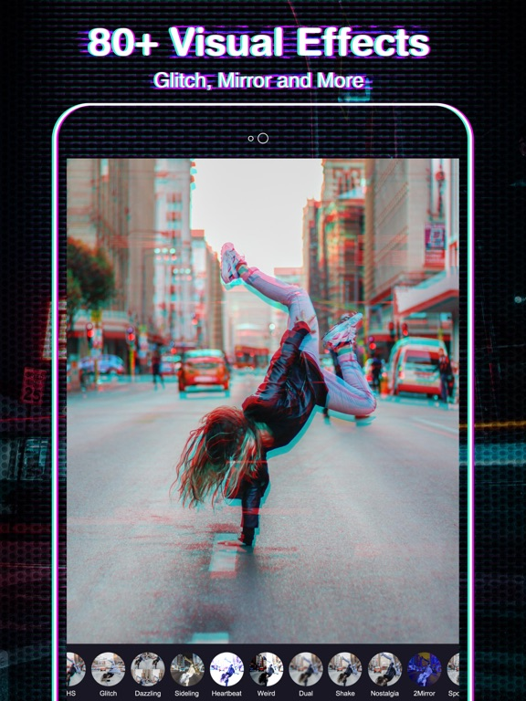 FX Editor- glitch video effect | App Price Drops
