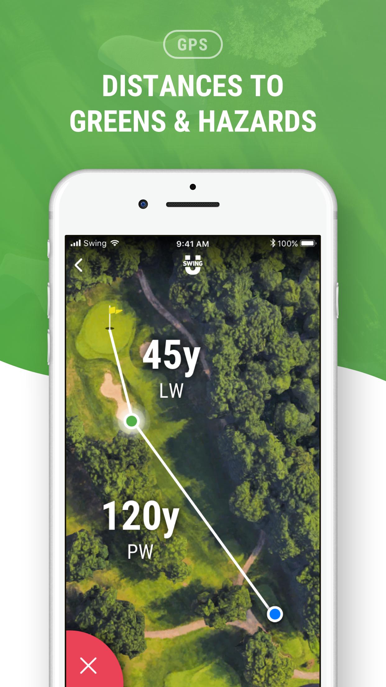 Golf GPS by SwingU Screenshot