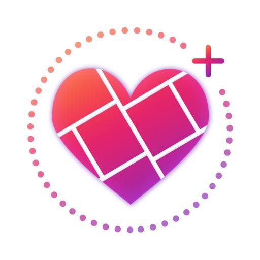 5000+ Likes - InsCollage iOS App