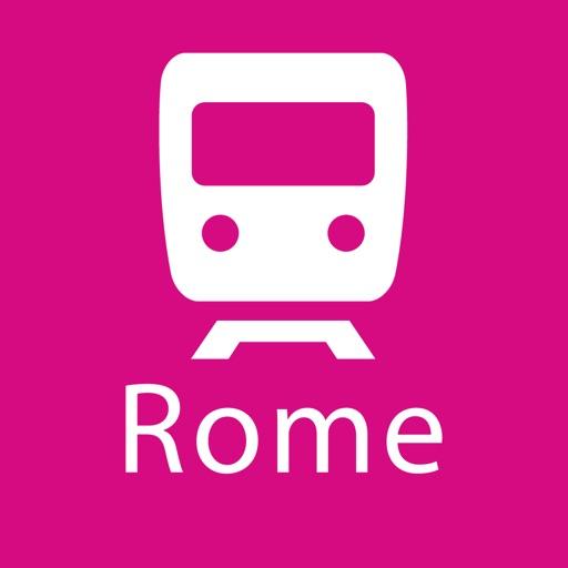Rome Rail Map